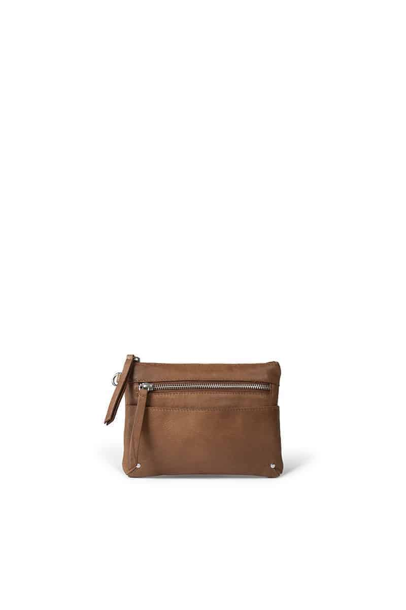 0467 ReDesigned by DIXIE - Milla wallet - walnut - 1