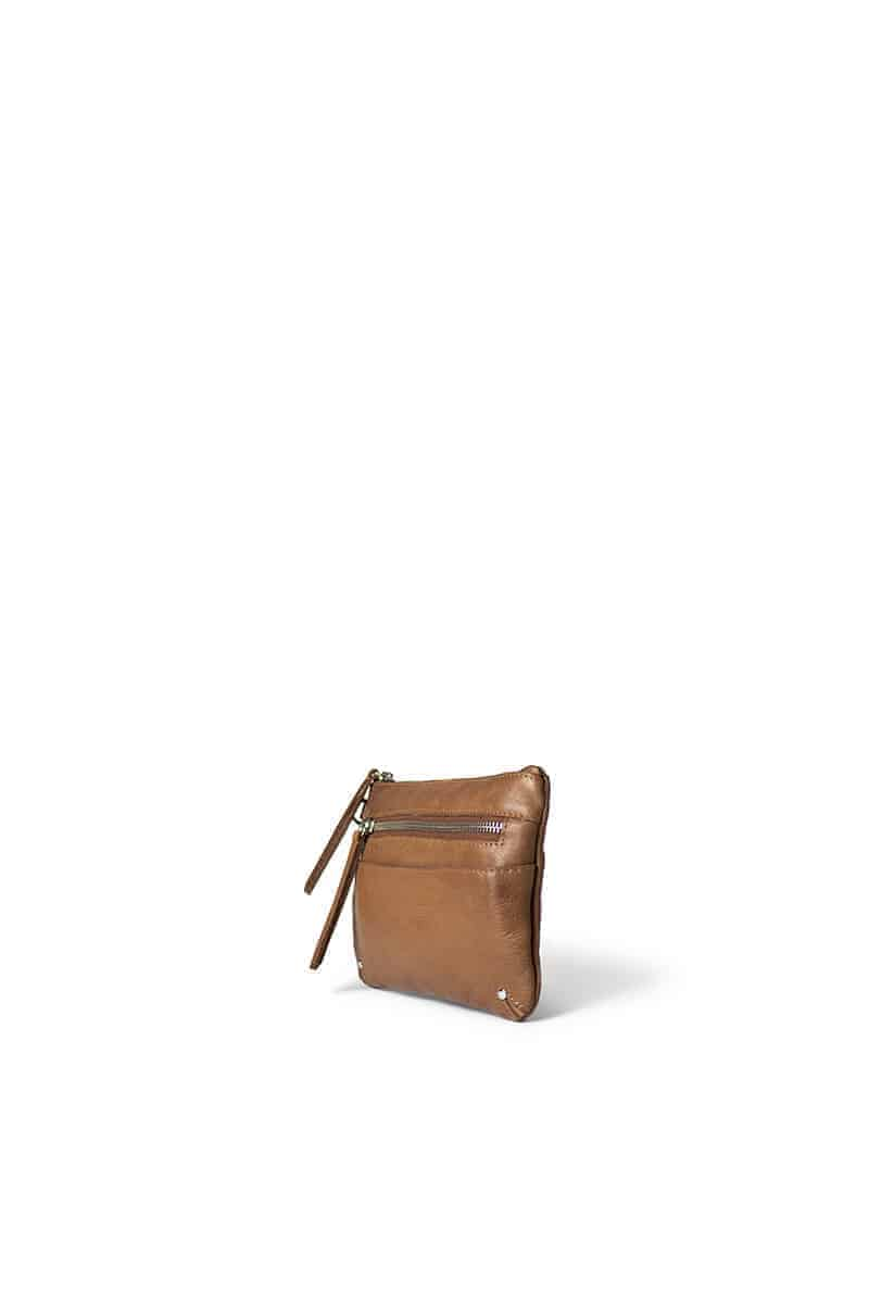 0467 ReDesigned by DIXIE - Milla wallet - walnut - 2