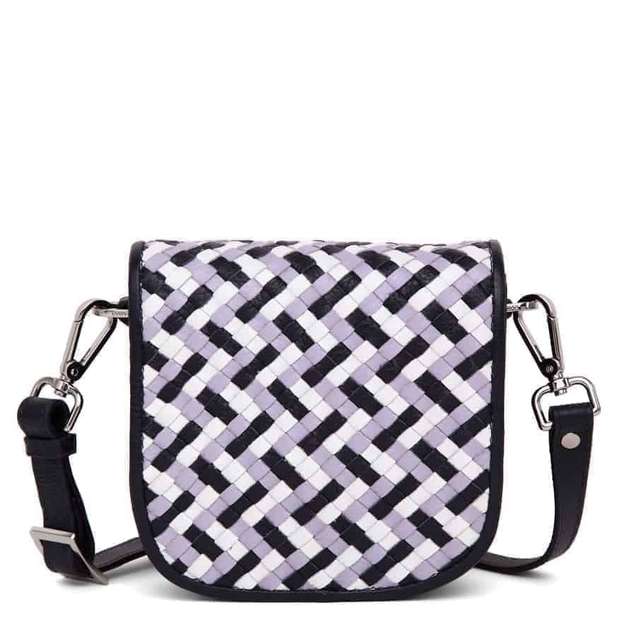 101593 ADAX Bolzano shoulder bag Gunn - multi forside