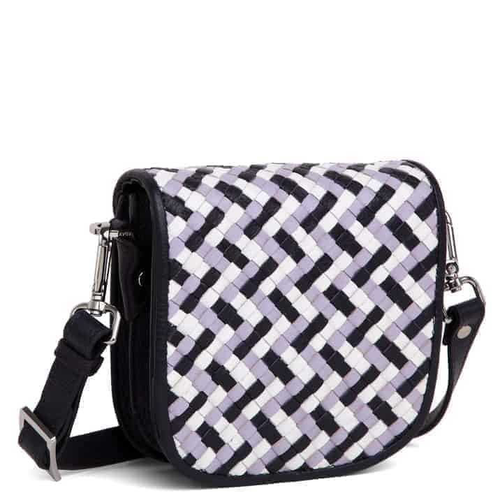 101593 ADAX Bolzano shoulder bag Gunn - multi side