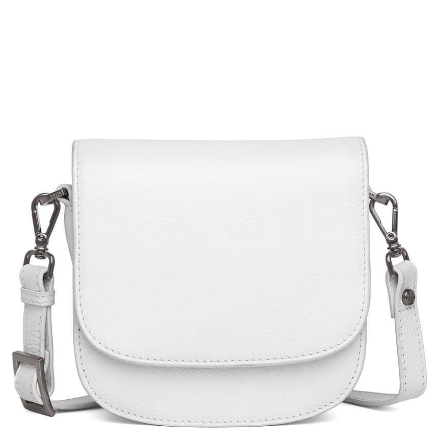 101692 ADAX Cormorano shoulder bag Siri - hvit forside