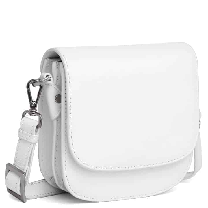101692 ADAX Cormorano shoulder bag Siri - hvit side