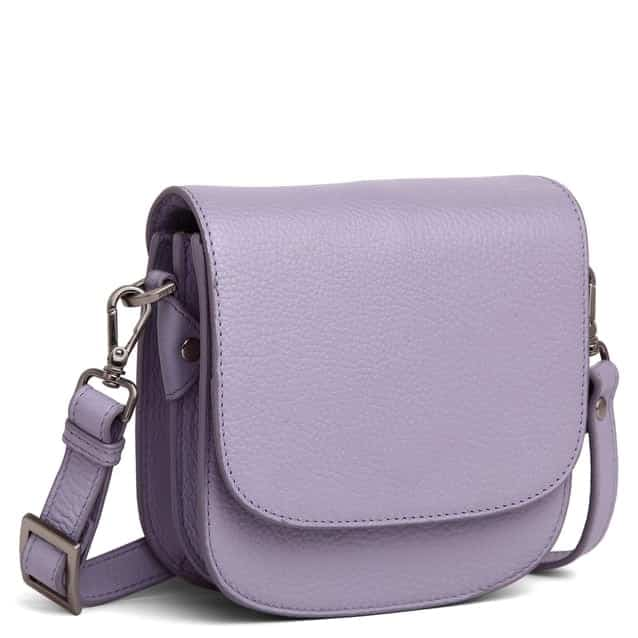 101692 ADAX Cormorano shoulder bag Siri - light purple side