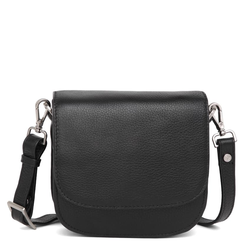 101692 ADAX Cormorano shoulder bag Siri - sort forside