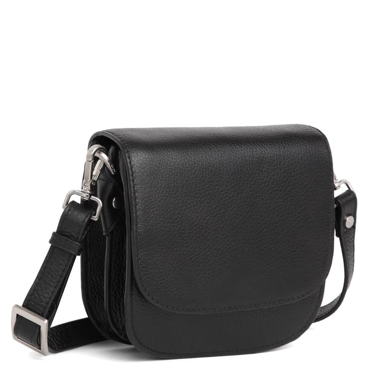 101692 ADAX Cormorano shoulder bag Siri - sort side