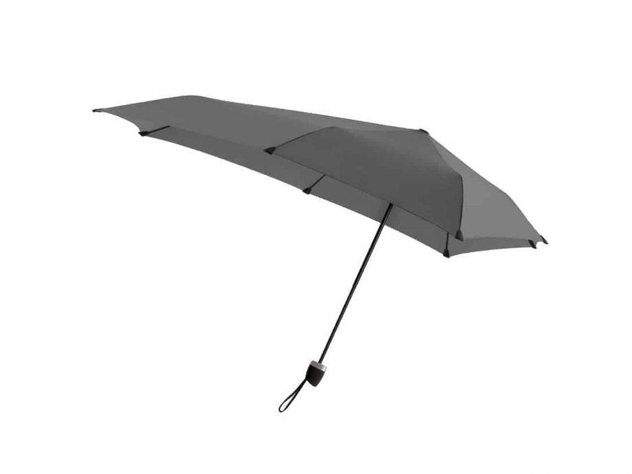 1020012 senz-paraply-sammenleggbar-manual-Side-F18-revive-silk-grey
