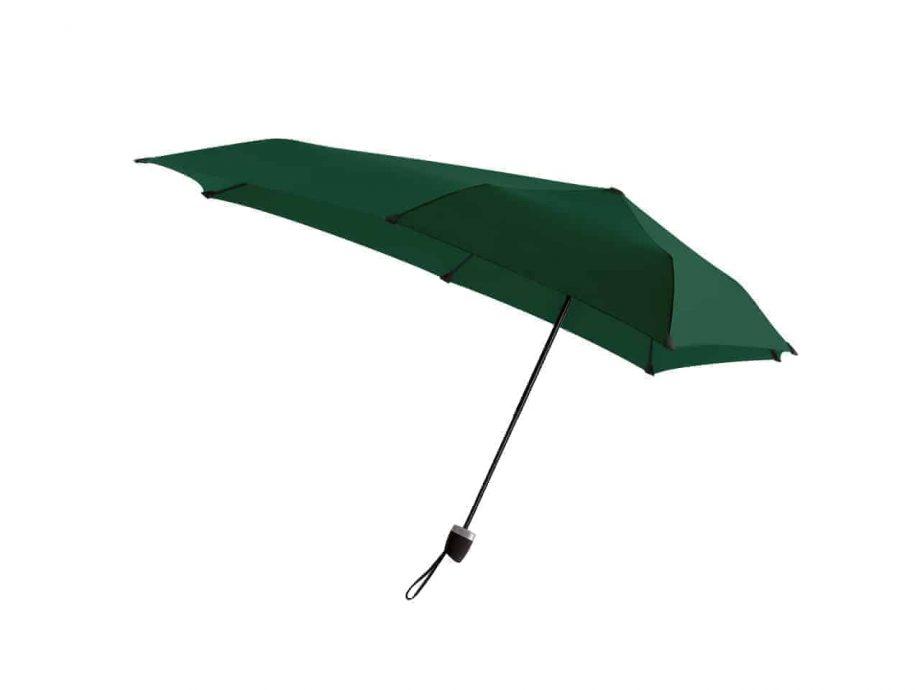 1020013 senz-paraply-sammenleggbar-manual-side-F18-revive-velvet-green