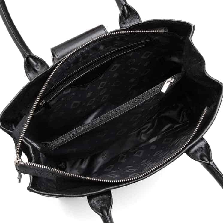 104378 ADAX Savona handbag Marianna - sort open