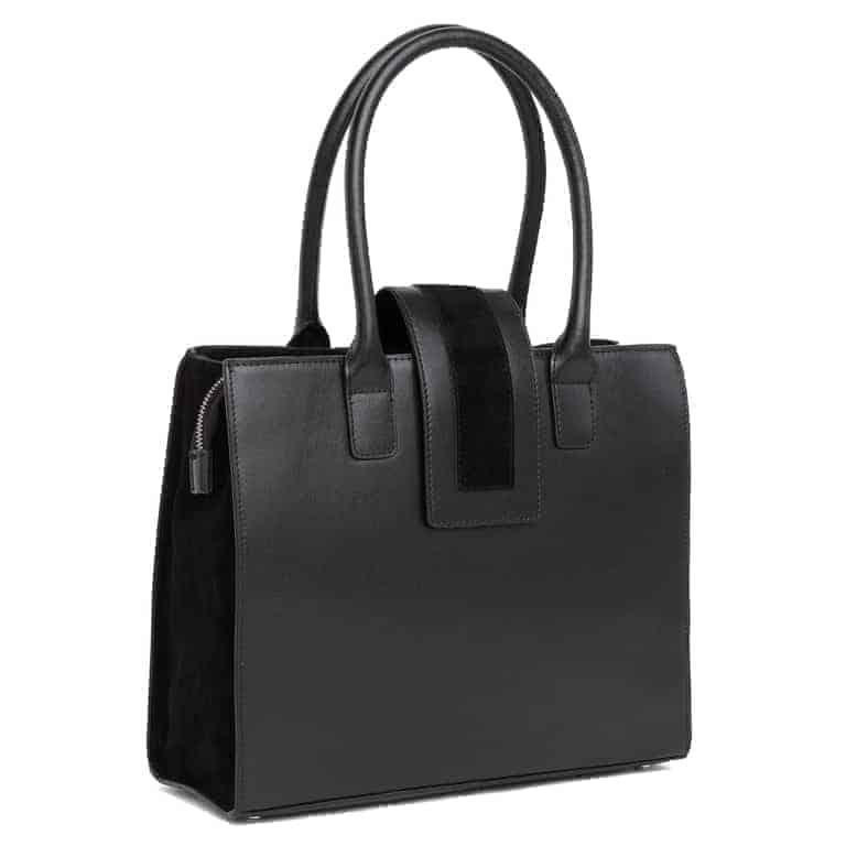 104378 ADAX Savona handbag Marianna - sort side