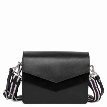 104678 ADAX Savona shoulder bag Rita - sort forside