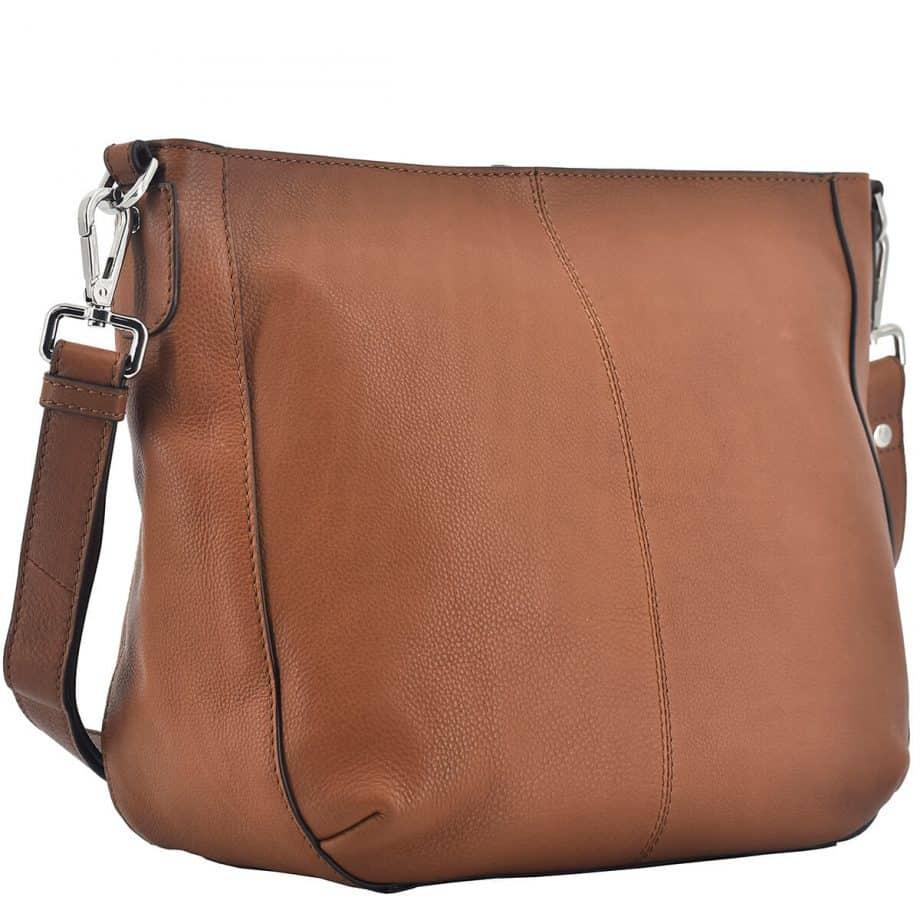 124294 Sorano Shopper Manja Brown Side