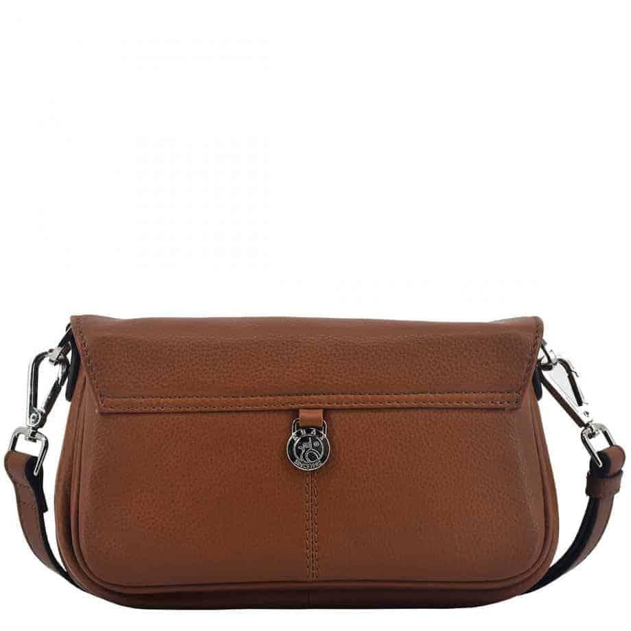 124394 Sorano shoulder bag Vera Brown Bakside
