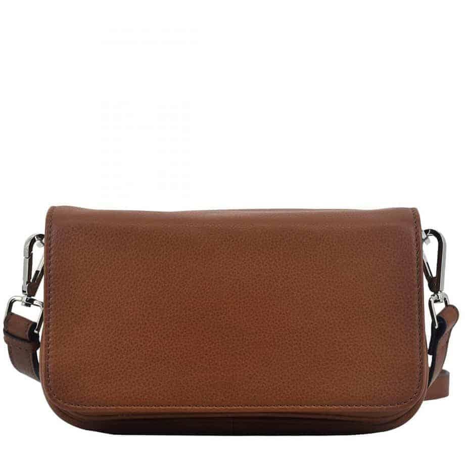 124394 Sorano shoulder bag Vera Brown Forside