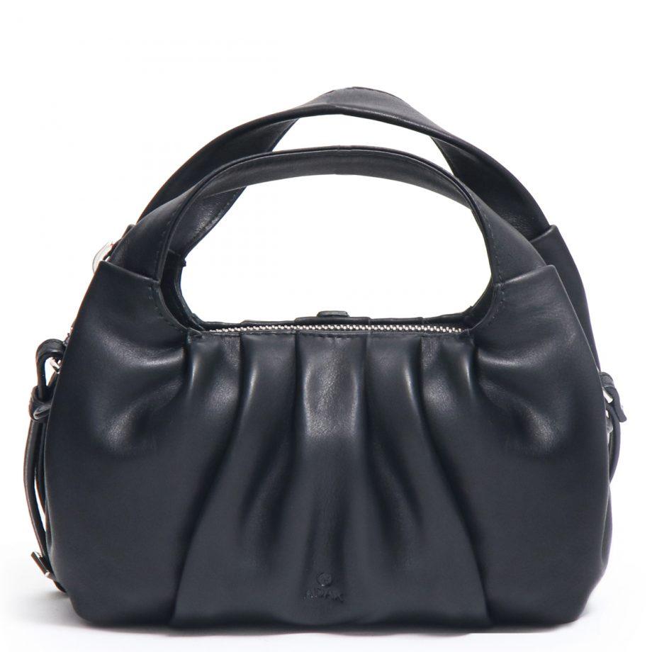 126711 ADAX Molise shoulder bag Aja sort forside