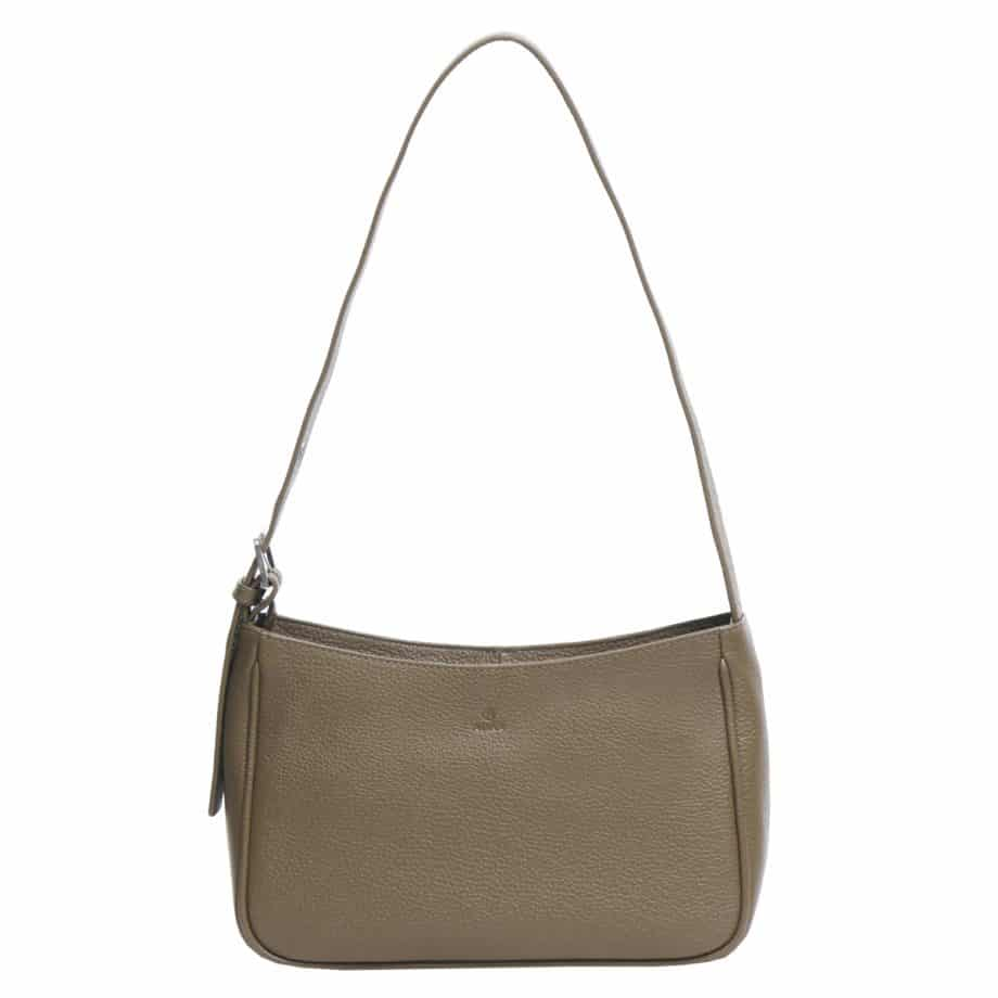 129492 ADAX Amalia Cormorano Shoulder Bag olive forside