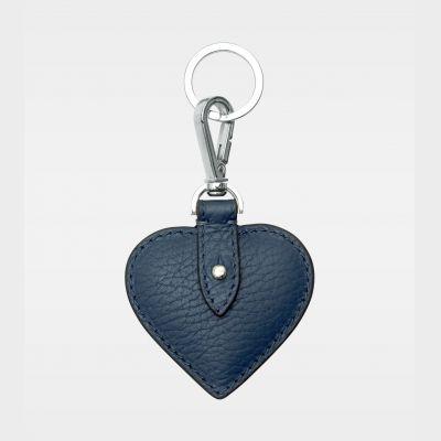 DE118 Decadent Heart Keyring navy forside