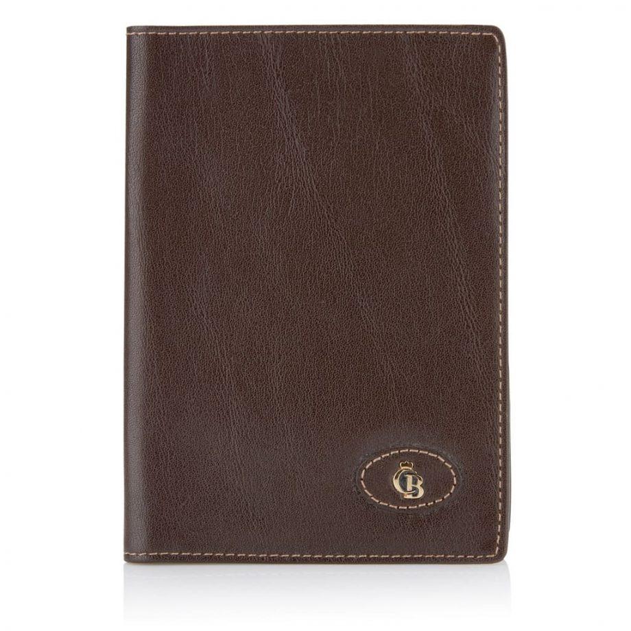 Passholder passbeskytter fra Castelijn & Beeres, 42 6910, mocca, forside