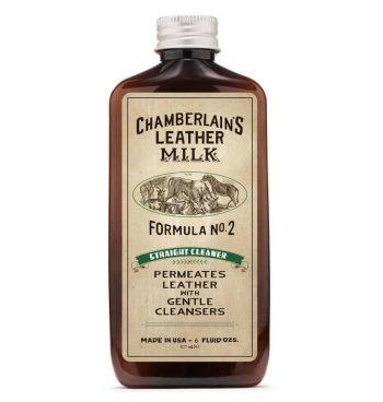 Chamberlain´s LeatherMilk Straight Cleaner No2 - sett forfra
