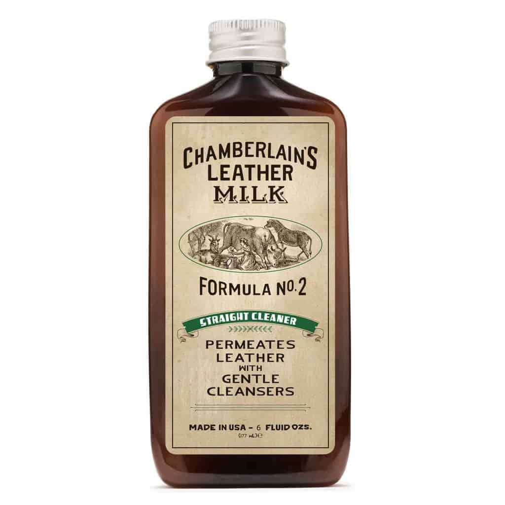 Chamberlain´s LeatherMilk Straight Cleaner No2 - sett forfra