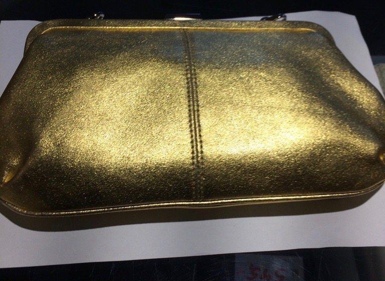 4784 Picard AUGURI nostalgisk clutch - gold