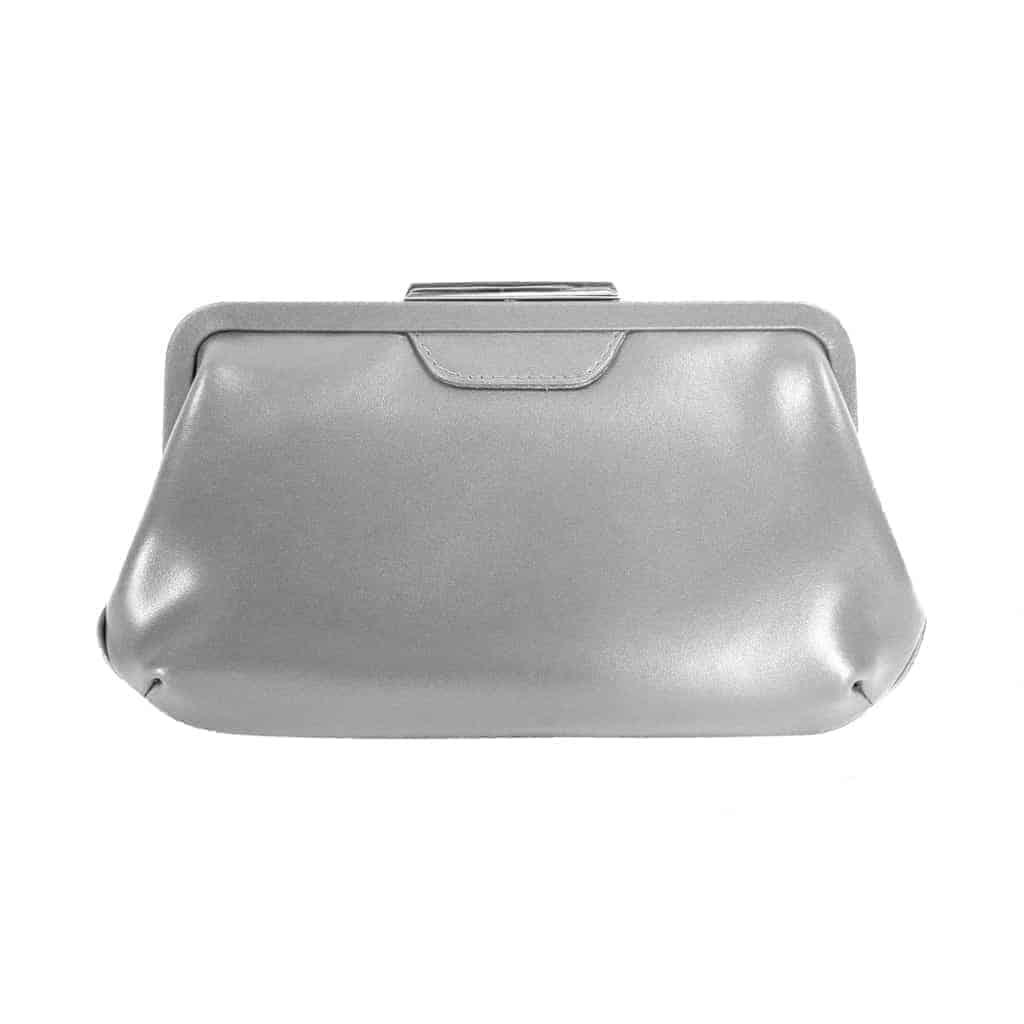 4784 Picard AUGURI nostalgisk clutch - sølv