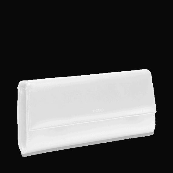 4022 Picard AUGURI klassisk clutch hvit 3