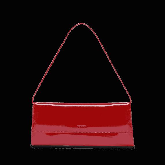 4022 Picard AUGURI klassisk clutch rød lakk 1