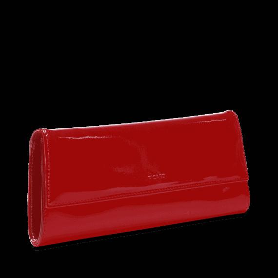 4022 Picard AUGURI klassisk clutch rød lakk 3