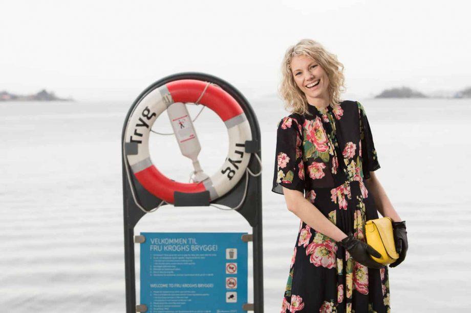 Roeckl skinnhansker miljøbilde Hanske-Hallén