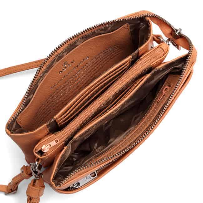 227392 Cormorano combi clutch Nellie - peach open