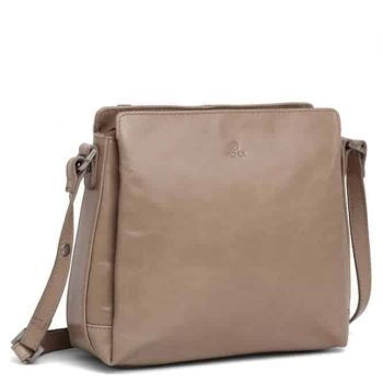 229869 ADAX Salerno shoulder bag Sia - latte side