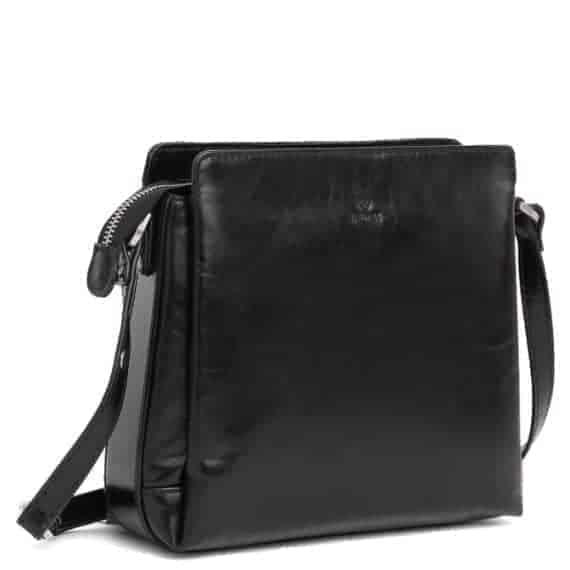 229869 ADAX Salerno shoulder bag Sia - sort side