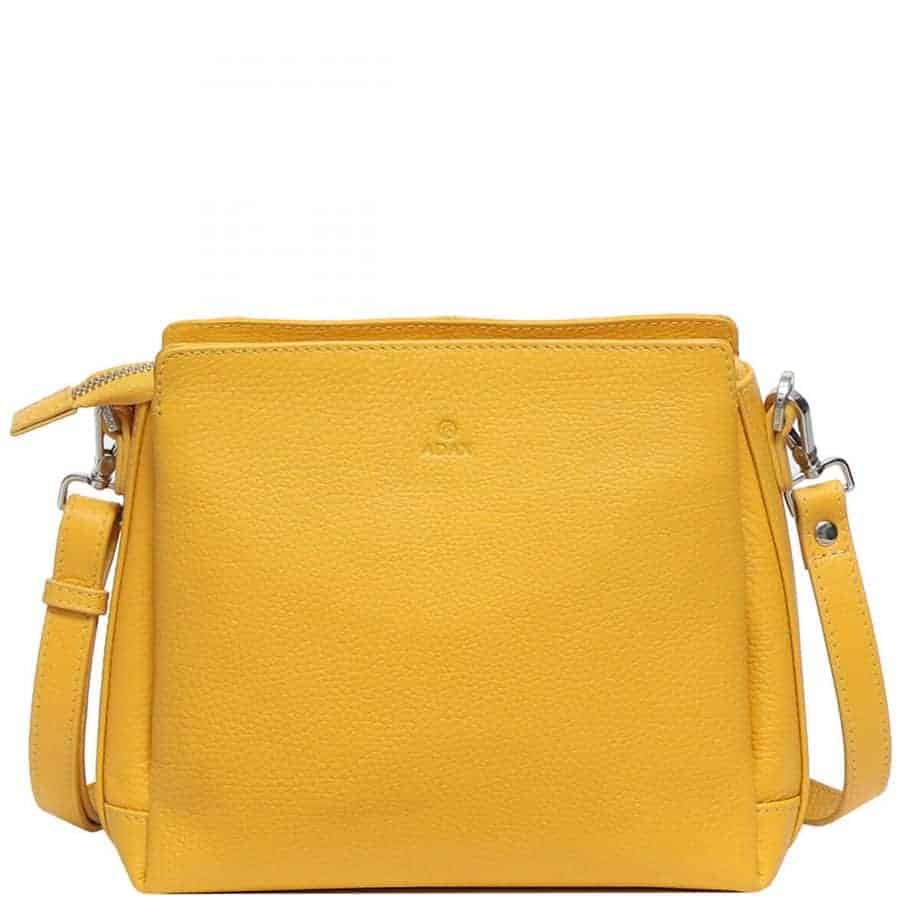 229892 ADAX Cormorano shoulder bag Sia - melon - forside