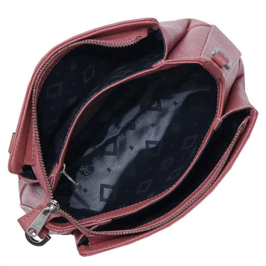 229892 ADAX Cormorano shoulder bag Sia - skulderveske - rose - forfra229892 ADAX Cormorano shoulder bag Sia - skulderveske - rose - innside