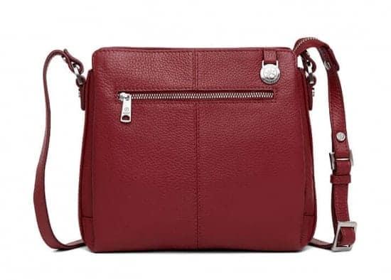 229892 ADAX Cormorano shoulder bag Sia - skulderveske - scarlet red - bakside