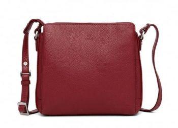 229892 ADAX Cormorano shoulder bag Sia - skulderveske - scarlet red - forside
