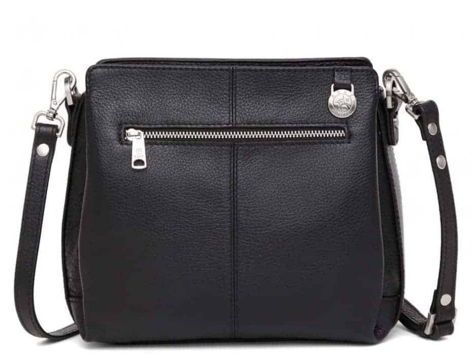 229892 ADAX Cormorano shoulder bag Sia - skulderveske - sort black - bakside