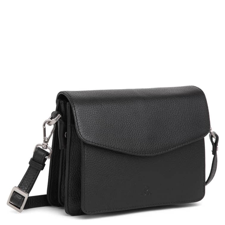 230192 ADAX Cormorano shoulder bag Thea - sort side