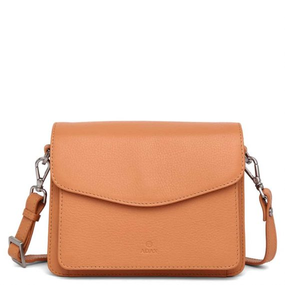 230192 Adax Cormorano shoulder bag Thea peach forside