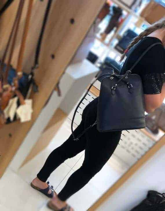 230292 ADAX Cormorano backpack Sille i bruk