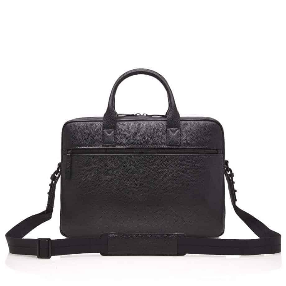 26 9472 Castelijn Beerens Chris Laptop Bag Sort Bakside