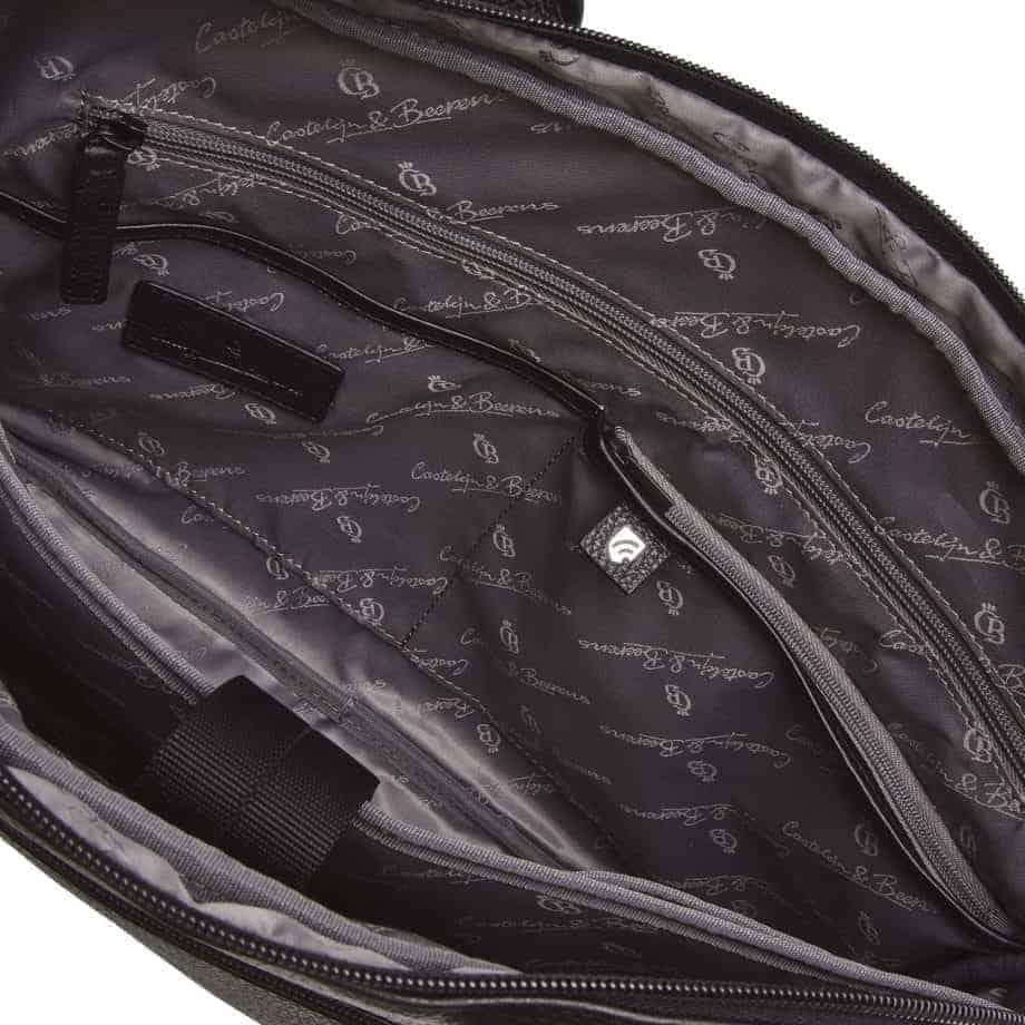 26 9472 Castelijn Beerens Chris Laptop Bag Sort Innside