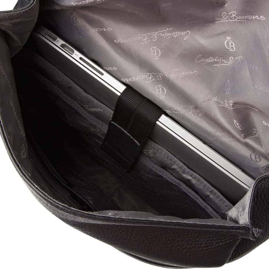 26 9578 Castelijn Berens Tango Backpack Sort Detaljer 3
