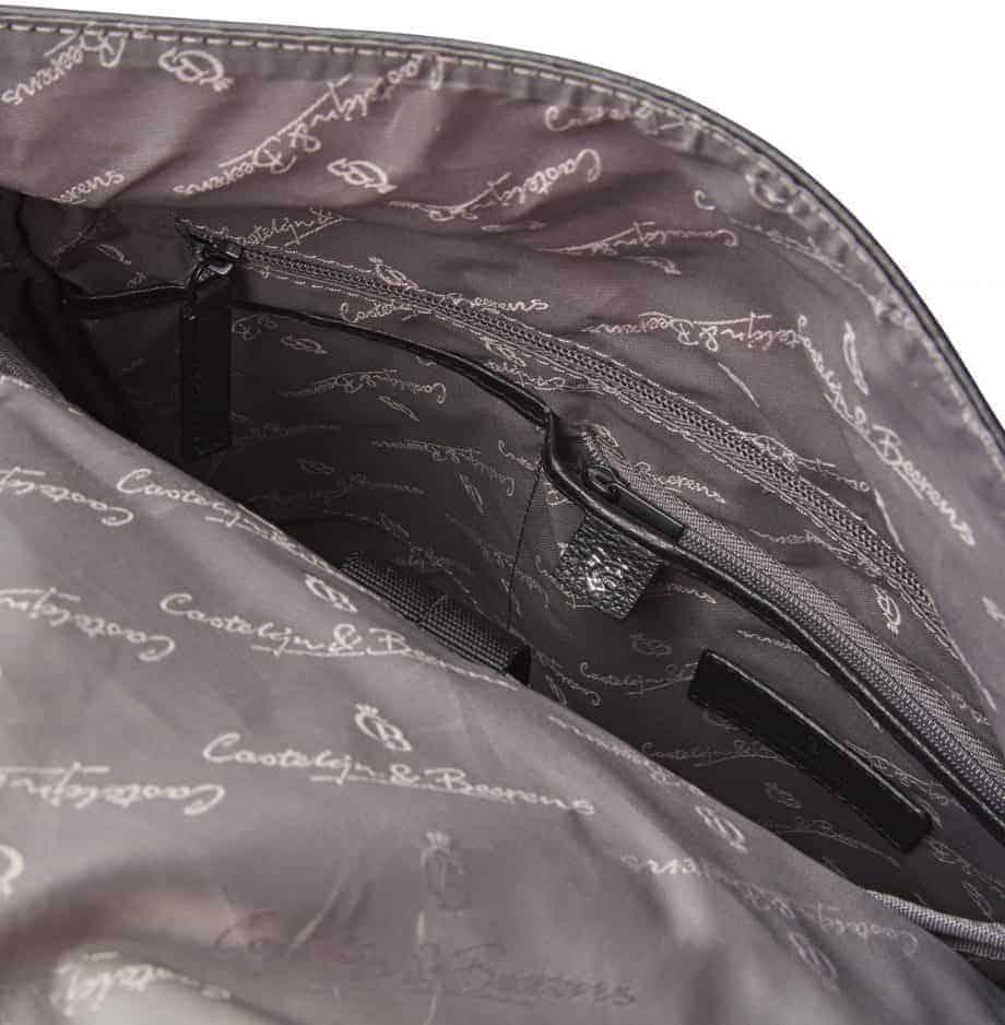 26 9578 Castelijn Berens Tango Backpack Sort Detaljer 4