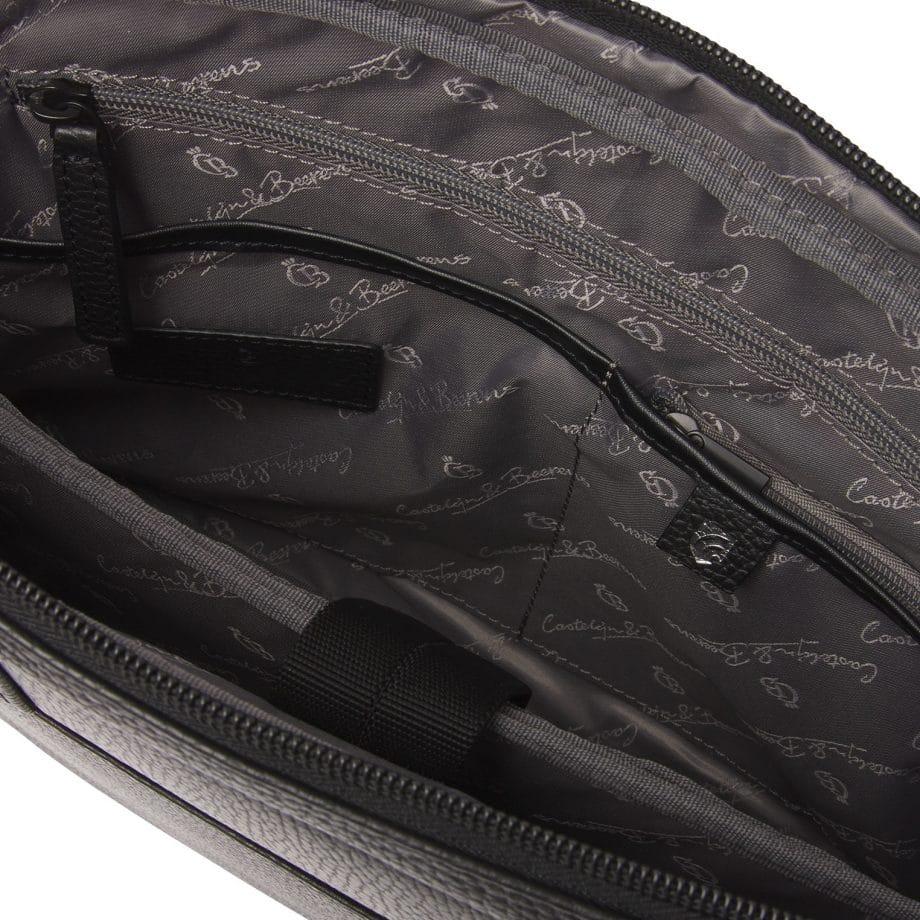 269460 Castelijn Beerens Delta laptopbag sort innside 2