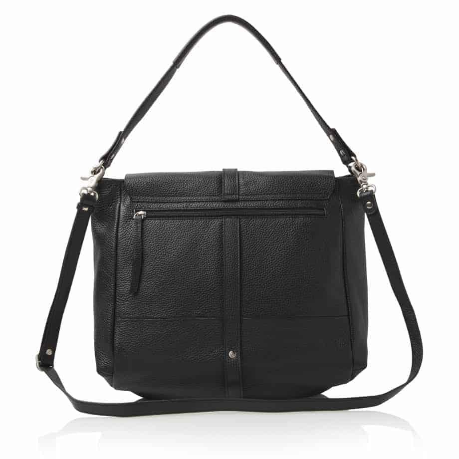 27 9813 Castelijn Beerens handbag large sort bakside