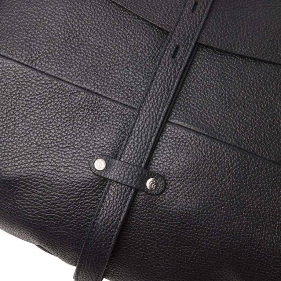 27 9813 Castelijn Beerens handbag large sort detaljer