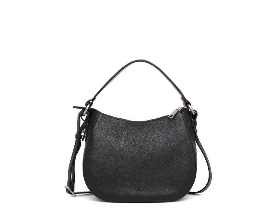 279692 ADAX Cormorano shoulder bag Mako_sort_forside