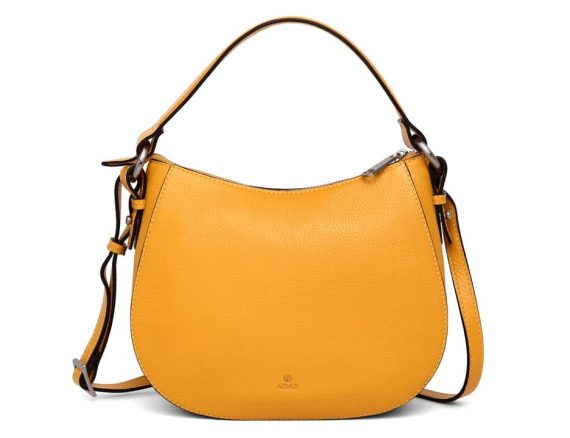 279692 ADAX Cormorano shoulder bag Mako_yellow gul_forside