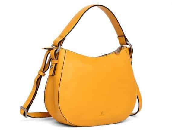 279692 ADAX Cormorano shoulder bag Mako_yellow gul_fra siden